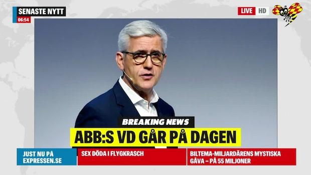 ABB:s vd Ulrich Spiesshofer avgår