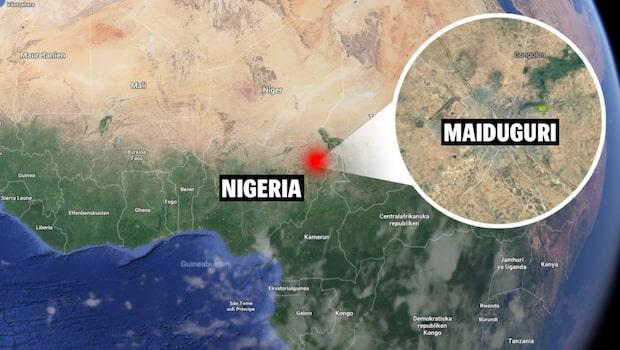 Larm om explosioner i Nigeria på valdagen