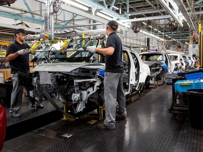 Nissans fabrik i Sunderland.