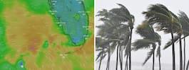 Undantagstillstånd i södra USA – stormen Alberto närmar sig