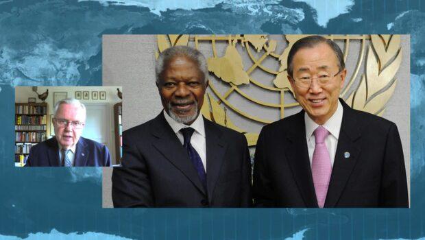 Hans Corell om Kofi Annans bortgång: Jag är skakad