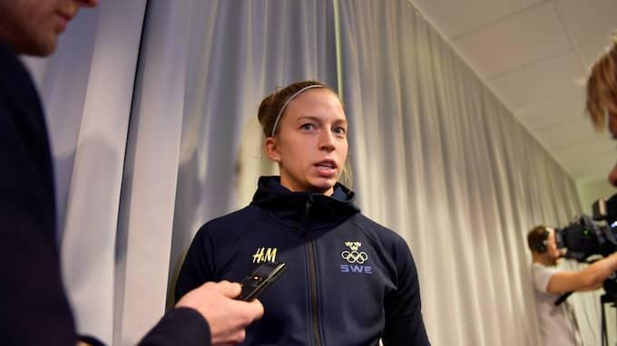 Emilia Ramboldt. Foto: ANDERS WIKLUND/TT / TT NYHETSBYRÅN