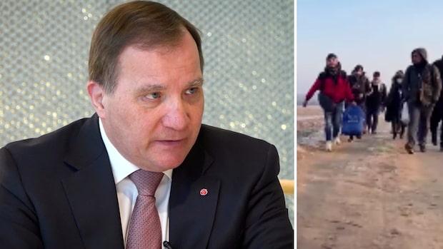 """Löfven om M:s migrationspolitik: """"Vill påstå att vi är överens"""""""