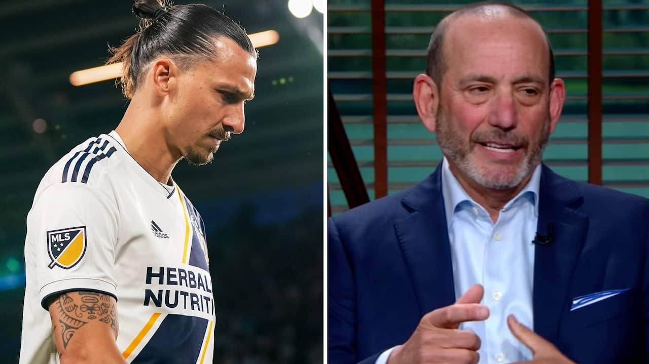 Här avslöjar han Zlatans nya klubb – av misstag