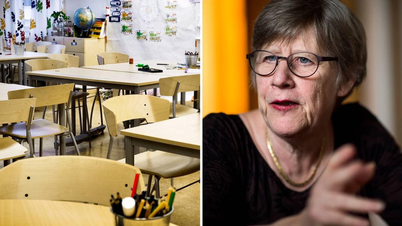 Professor Agnes Wold: En dålig idé att stänga skolorna