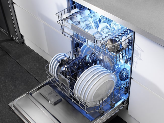 Diskmaskinen har numera en självklar plats i de flesta kök.