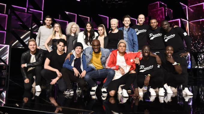 Finalartisterna i Melodifestivalen Foto: Sven Lindwall