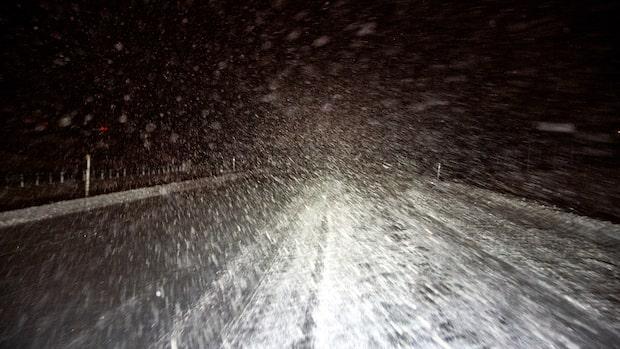 Väderprognos: Snöbyar och blåst på väg in