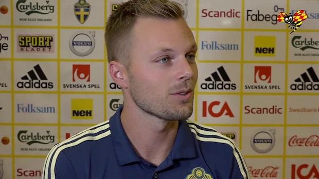 """Sebastian Larsson om petningen: """"Besviken"""""""