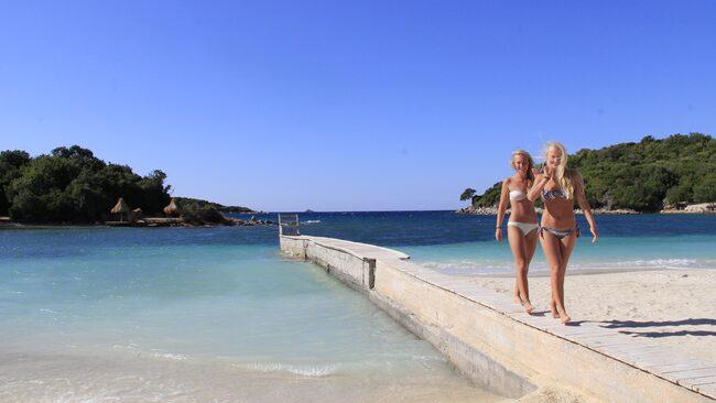 Saranda i Albanien ger mest sol för pengarna i sommar, enligt Forex solindex.