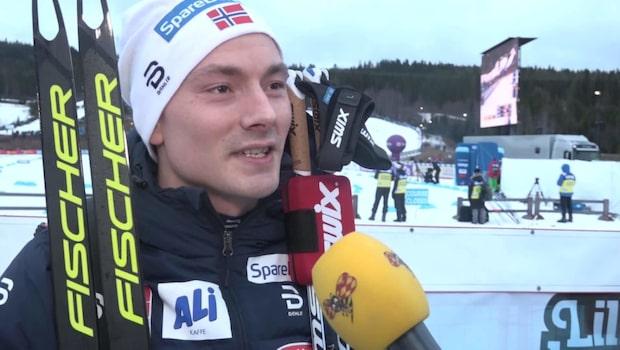 Finn Hågen Krogh: Det gick lite långsamt