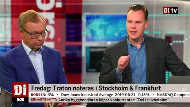 Fredag: Traton noteras i Stockholm och Frankfurt