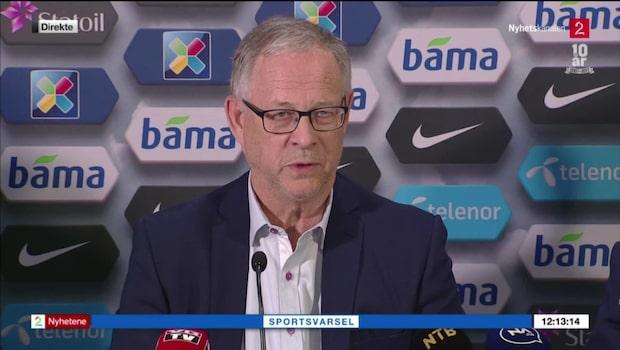 Lars Lagerbäck ny förbundskapten för Norge
