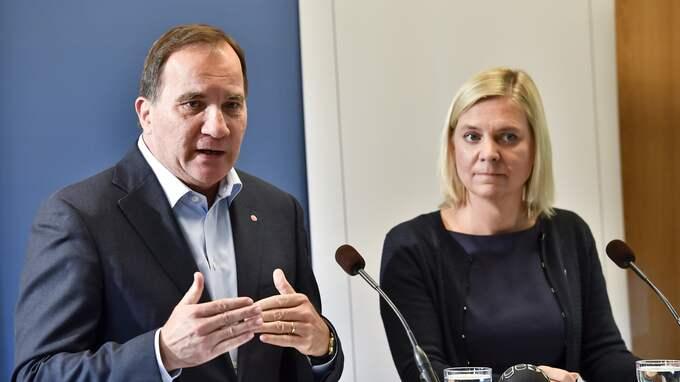 Stefan Löfven lovar att satsa 4,4 miljarder på pensionärerna. Foto: JONAS EKSTRÖMER/TT / TT NYHETSBYRÅN