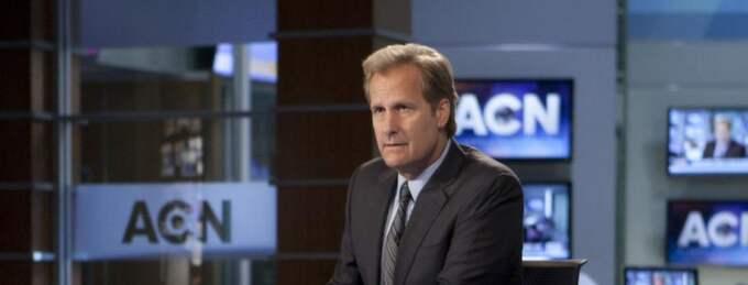 Jeff Daniels spelar nyhetsankare. Foto: HBO