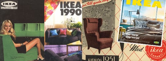 Ikea genom tiderna – se alla katalogerna!     Leva & bo