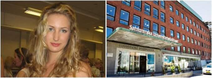 Patologen på Sahlgrenska sjukhuset i Göteborg missade Fredrica Carlssons hudcancerfläckar. Först efter ett halvår upptäcktes de. Foto: Privat/Jan Wiriden