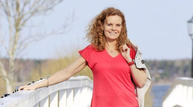 Helene Lindgren gick ner sex kilo genom att ha en vit månad.