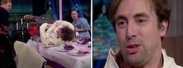 Komikern Per Andersson  skadad under tv-inspelning