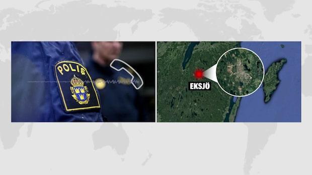 Misstänkt våldsbrott i Eksjö – klassas som mordförsök
