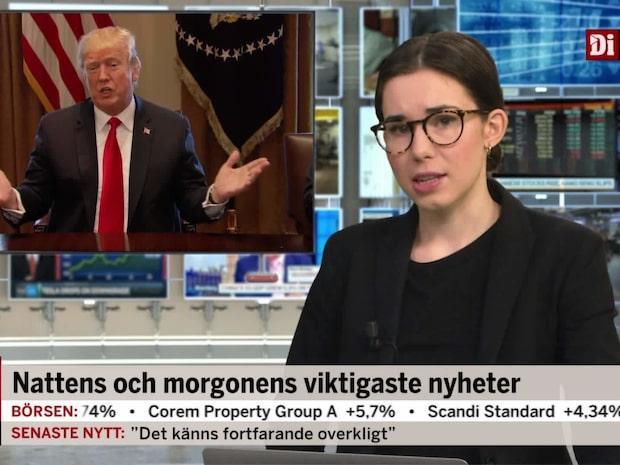 Di Morgonkoll: Handelsavtal på plats inom fyra veckor
