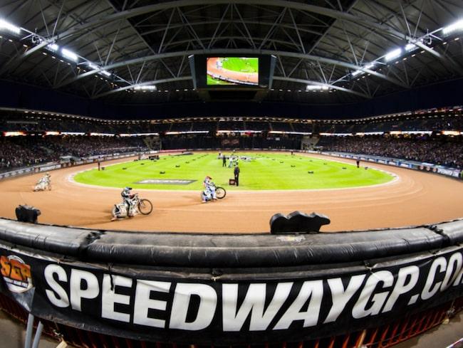 <span>VM-deltävling i Speedway på Friends Arena 2014. </span>