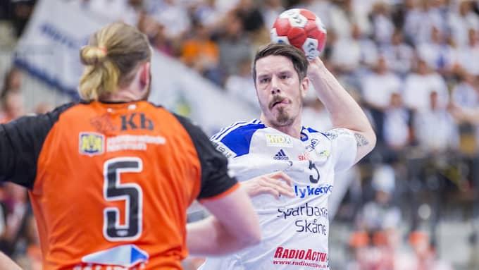 Kim Andersson ska försöka sänka IFK Kristianstad och ta Ystad till final. Foto: MATHILDA AHLBERG