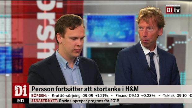"""Wellfelt: """"Persson försöker visa tillförsikt i bolaget"""""""
