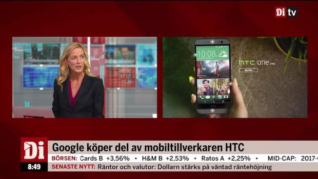 Google fortsätter ta mark - köper del av HTC