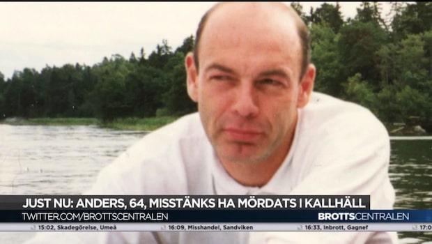 64-årige Anders Kalin mördades i Kallhäll