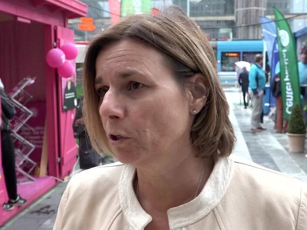 """Isabella Lövin (MP): """"Självklart förstår jag oron"""""""