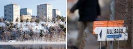 Nya siffror: Bopriserna  fortsätter falla i Sverige