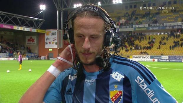 """Olssons ilska: """"Kan vi prata om matchen istället?!"""""""