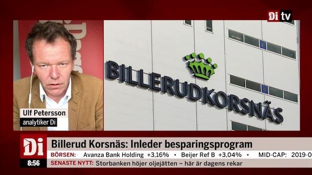"""Billerud Korsnäs inleder besparingsprogram: """"Ska ta bort 300 tjänster"""""""