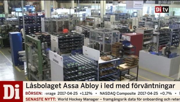 Assa Abloys resultat når upp till förväntningarna