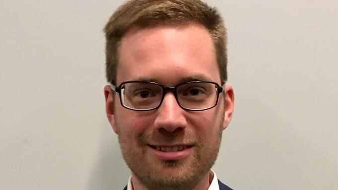 Hampus Hagman (KD), riksdagskandidat från Göteborg. Foto: PRESSFOTO
