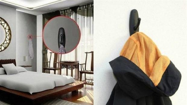Om du ser det här på en toalett eller i ett hotellrum – lämna platsen och ring polisen