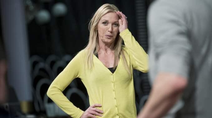"""Linda Lindorff är programledare för """"Bonde söker fru"""" Foto: Olle Sporrong"""