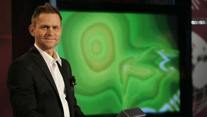 Programledaren Rikard Olsson är orolig inför framtiden. Foto: AXEL ÖBERG