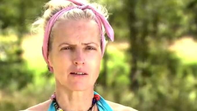 """Nina Wahlin grundlurades på """"Farmen"""". Foto: TV4"""