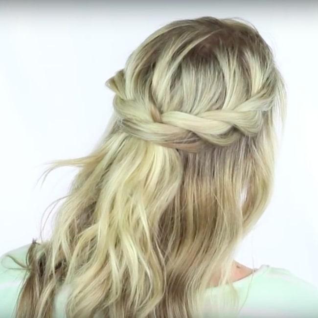 frisyrer mellanlångt hår steg för steg