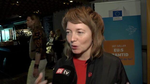 Malin Björk (V): Det finns dinosaurier inom EU-parlamentet