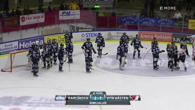 Höjdpunkter: Karlskoga – Vita Hästen 2–1