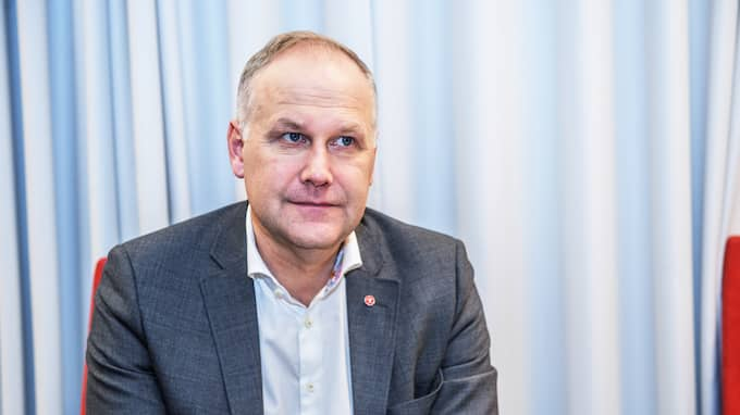 Jonas Sjöstedt, Vänsterpartiets partiledare. Foto: ANNA-KARIN NILSSON / ANNA-KARIN NILSSON EXPRESSEN