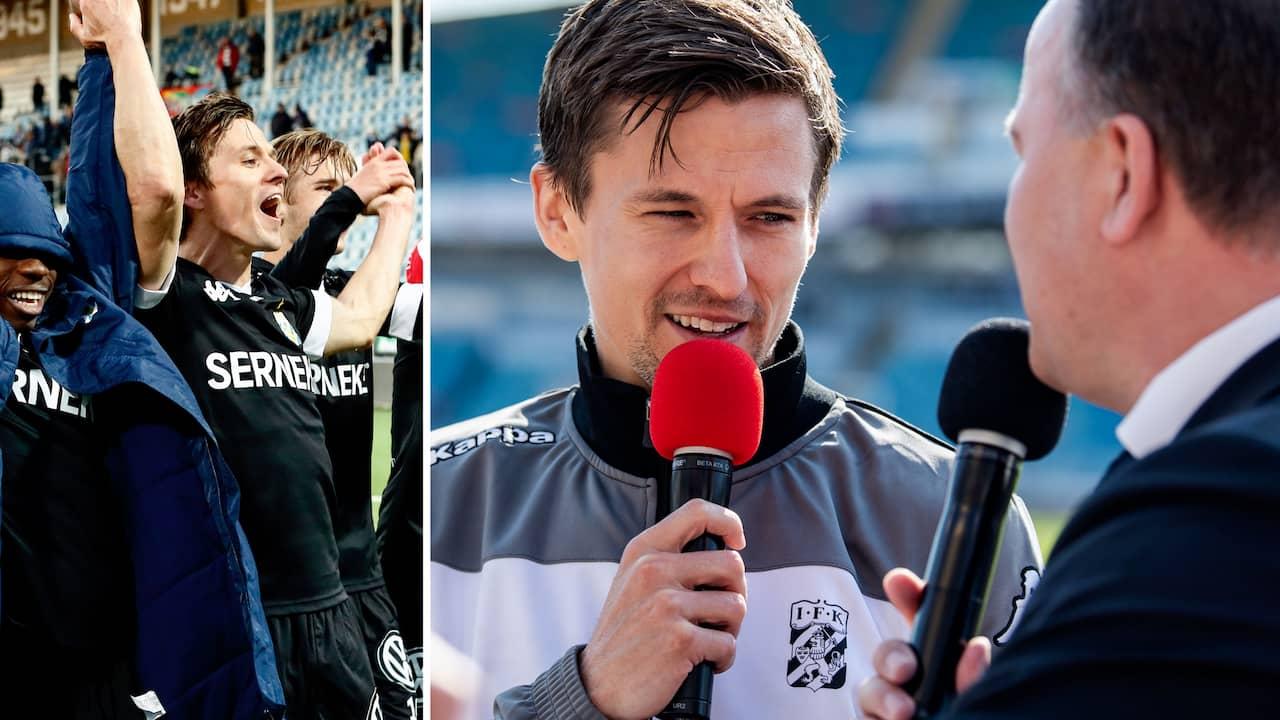 """IFK Göteborg: Blåvitt-stjärnans svar på frågan om VAR: """"Jag hatar det"""""""
