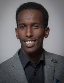 Mohamed Nuur är ordförande för Tensta Socialdemokrater och ledamot i Spånga-Tensta stadsdelsnämnd. Foto: Socialdemokraterna