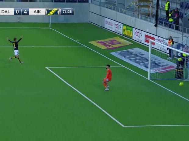 Höjdpunkter: Dalkurd-AIK