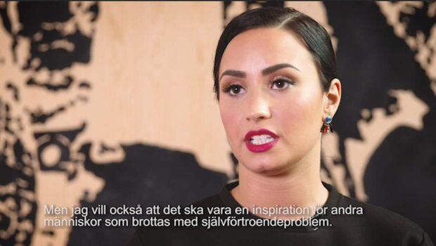 Demi Lovato berättar om sin diagnos och nakenbilderna