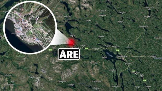 Misstänkt våldtäkt i Åre