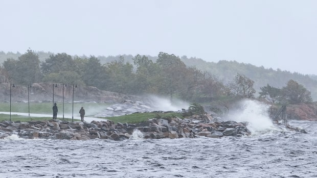 Vädret: Kyla, regn och blåst väntar